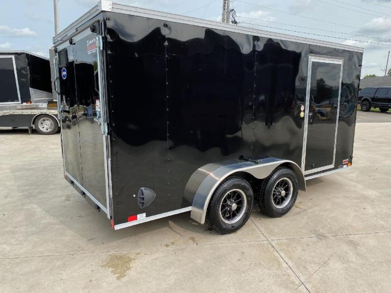 2021 United XLV 7x16 V-Nose Enclosed Cargo Trailer