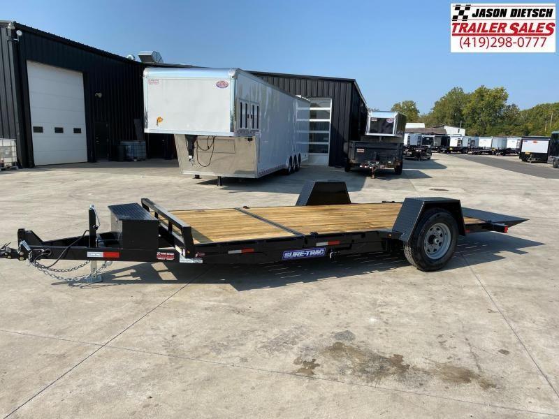 2021 Sure-Trac 6.5x12+4 Tilt Bed Equipment Trailer 7.8K