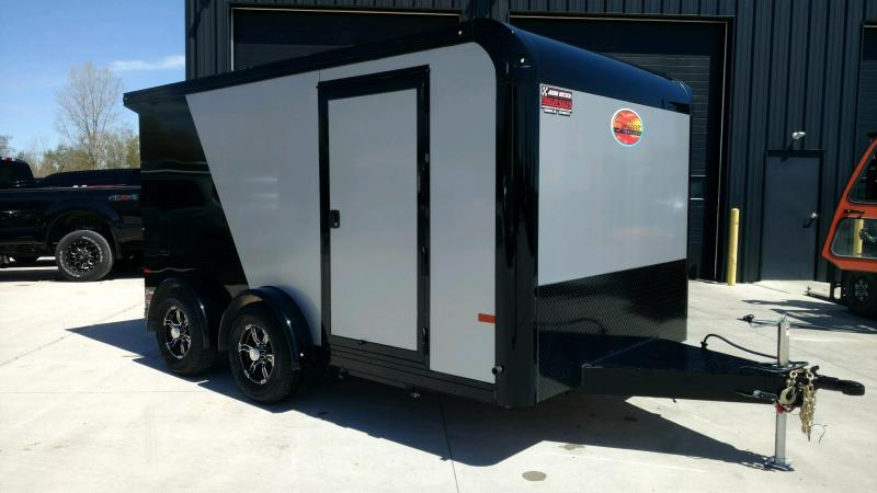 2020 Sundowner Trailers 7.5X14 Motorcycle Trailer....STOCK# SD-CA2903