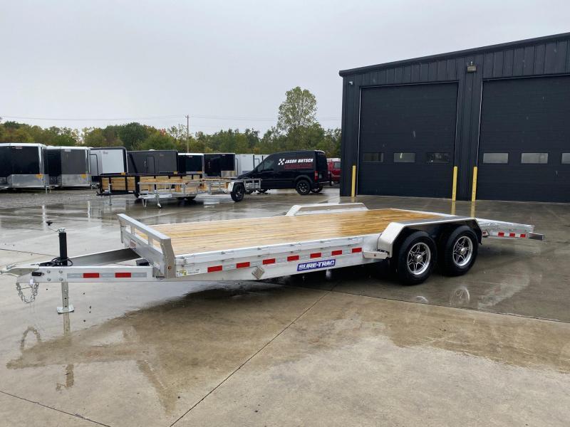 2021 Sure-Trac 7x20 Steel Deck Open Car Hauler 10k