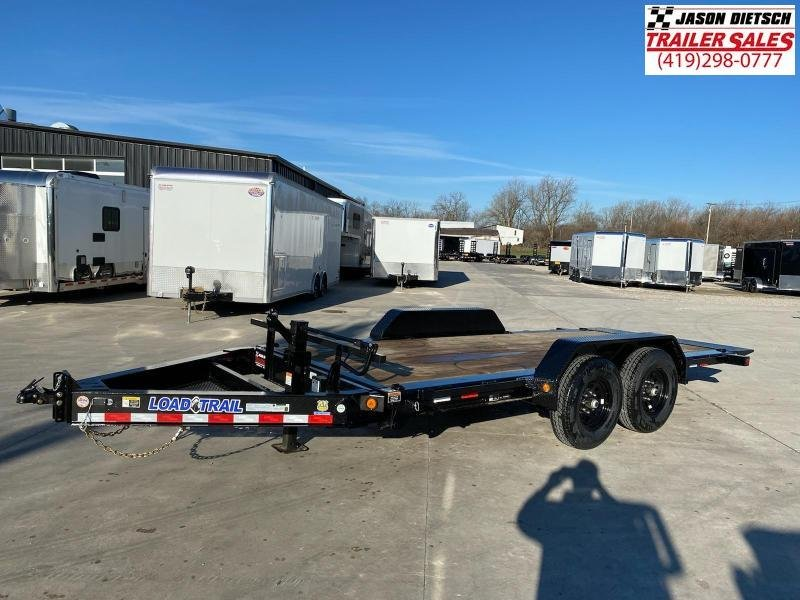 2021 Load Trail 83X16 Tilt Deck Open Equipment/Car Trailer
