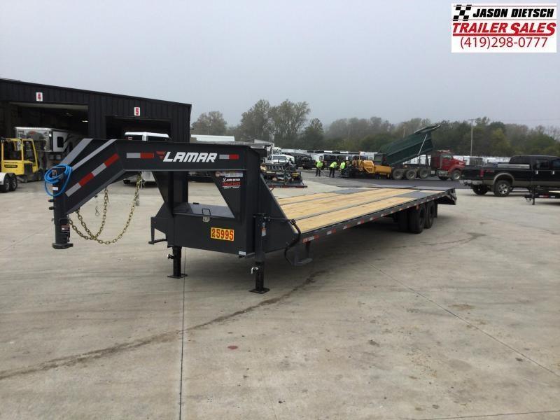 2022 LAMAR 102X36 XD DECK OVER Gooseneck Equipment Trailer