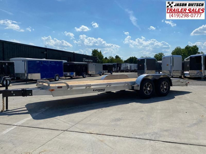 2021 Legend 7x20 Equipment/Car Trailer