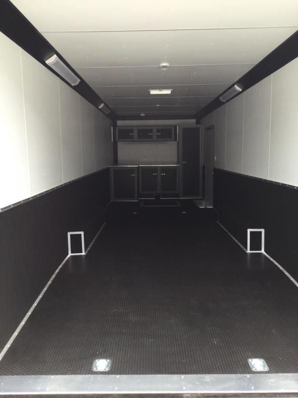 2022 United XLT 8.5X28 Extra Height Car/Racing Trailer (Racers Package)