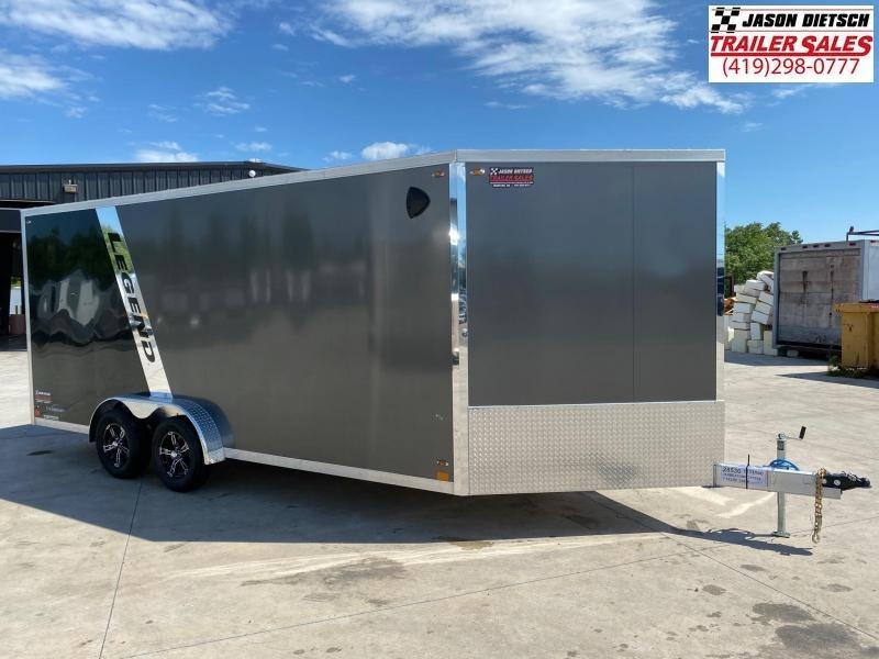 2021 Legend Explorer 7.5X23 Snowmobile Trailer Extra Height