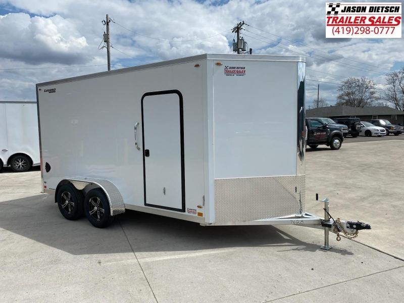 2022 Legend Flat Top V-Nose 7X17 Cargo Trailer