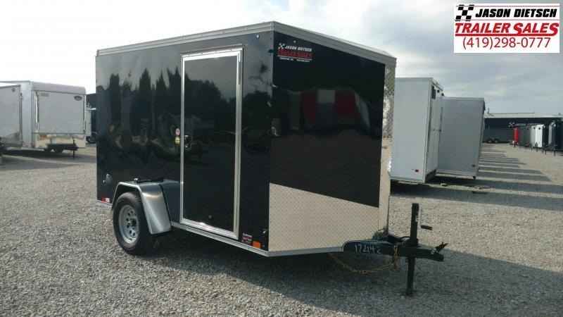 2021 United XLV 6X10 V-Nose Enclosed Cargo Trailer