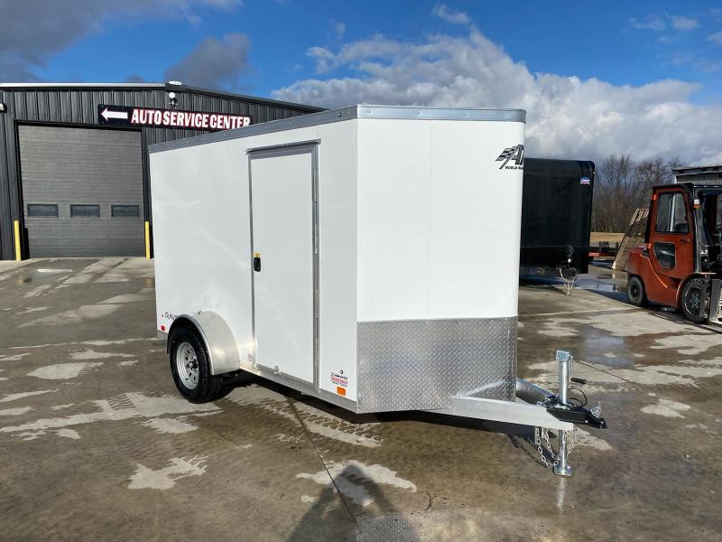2021 ATC 6X10 ALUMINUM ENCLOSED CARGO TRAILER....STOCK # AT-1792