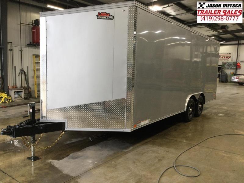2022 United XLTV 8.5X23 Enclosed Car/Race Trailer