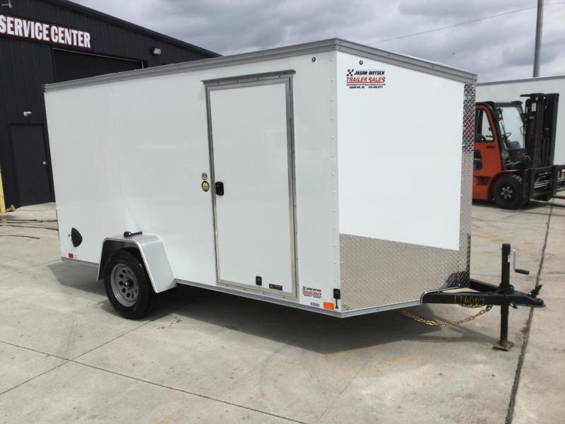 2022 United XLV 6X12 V-Nose Slant Enclosed Cargo Trailer