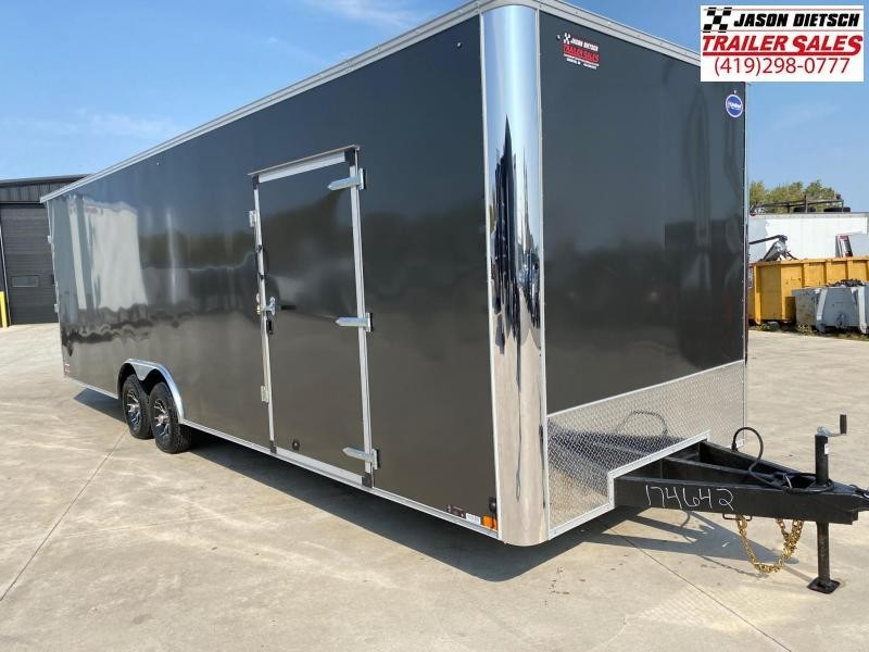 2021 United XLT 8 5X28 Enclosed Car Race Trailer Xtra Height 174642