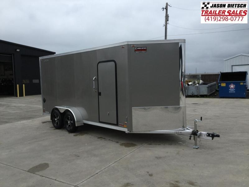 2022 Legend Flat Top V-Nose 7X19 Cargo Trailer
