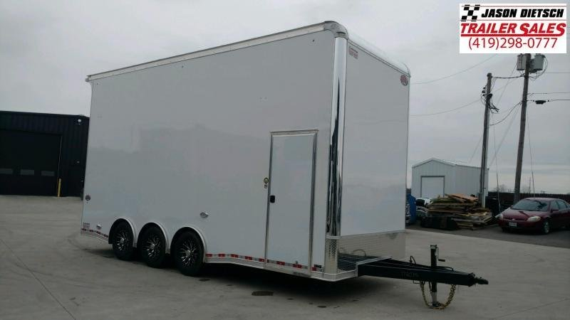 "2020 United Super Hauler 8.5X22 Stacker 54"" Extra Height"