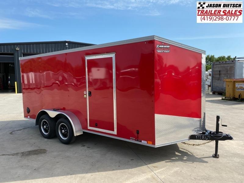 2021 United XLV 7x16 V-Nose Enclosed Cargo Trailer