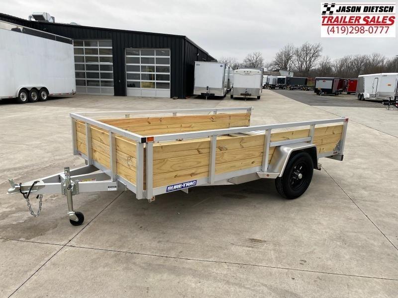 2021 Sure-Trac 7X12 Aluminum Tube Top 3-Board Trailer 3K
