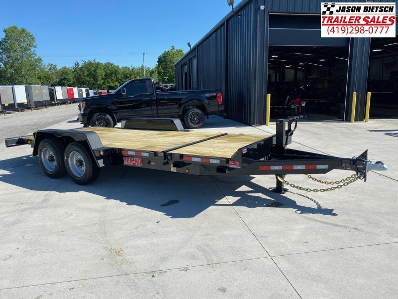 2020 Behnke 83X20 (16+4) Partial Tilt Equipment Trailer 20K
