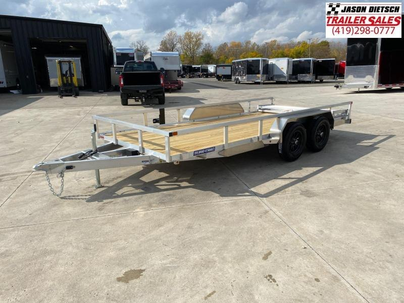 2021 Sure-Trac 7X16 Aluminum Utility Trailer 7K