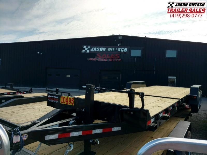 2020 Behnke 16K 83X24 Tilt Equipment Trailer