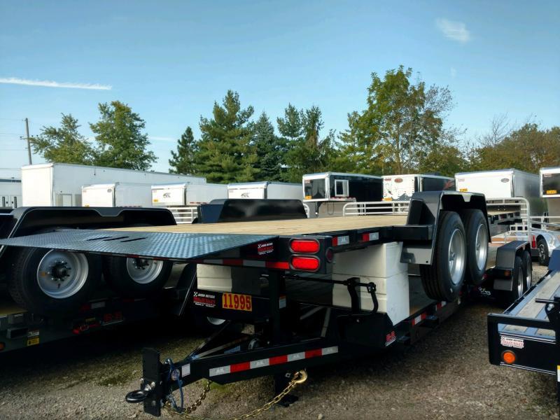 2020 Behnke 16K 83X24 Tilt Equipment Trailer