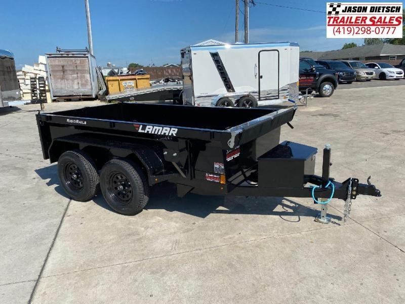 2021 Lamar 5X10 Mini Dump Trailer