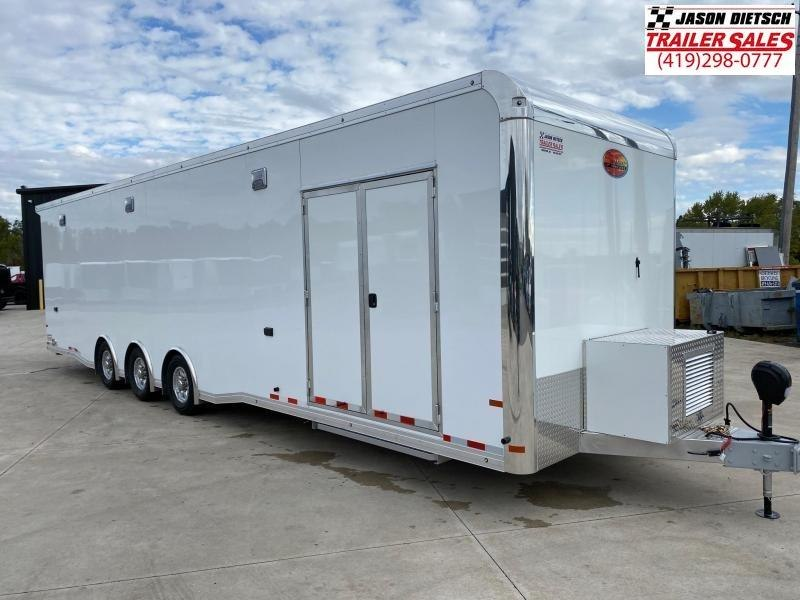 2021 Sundowner Race Series 8.5X34 Car/Racing Trailer