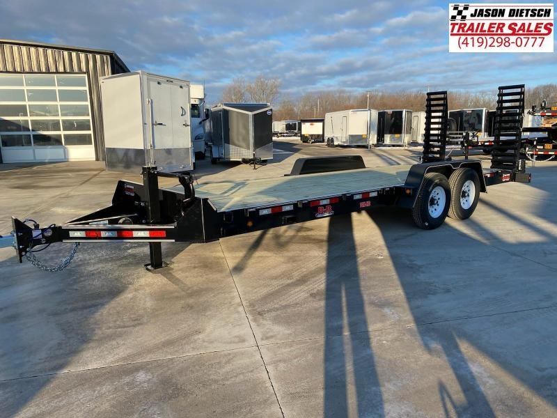 2021 Behnke  83X22 Equipment Trailer 14K
