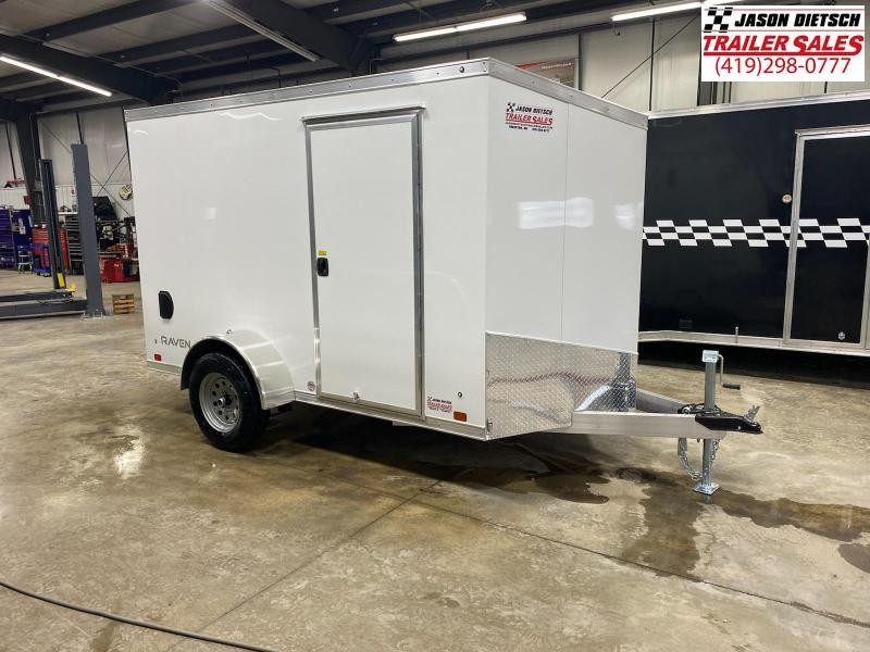 2022 ATC 6X10 ALUMINUM ENCLOSED CARGO TRAILER..