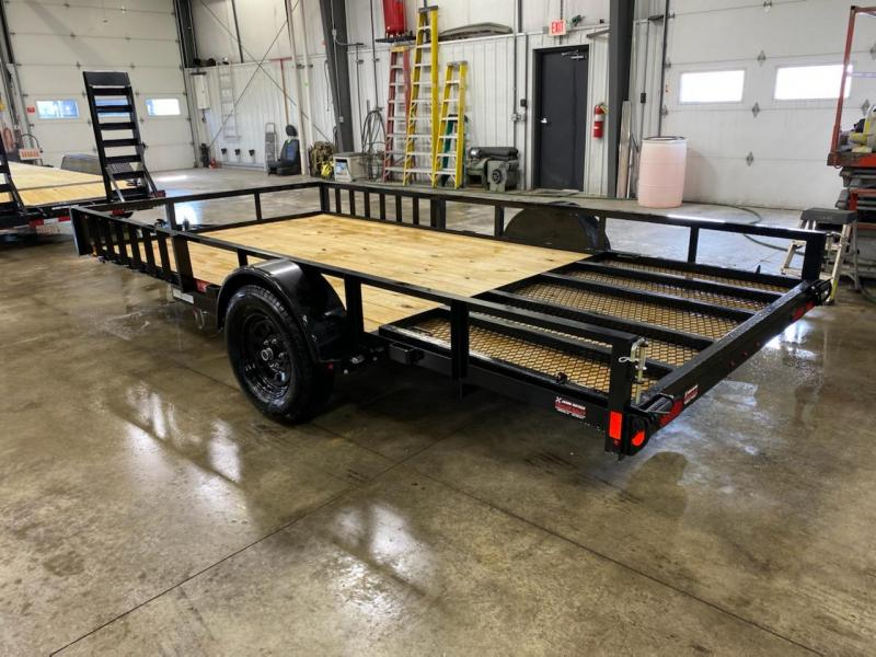 2021 Lamar 83x14 Single Axle Utility Trailer