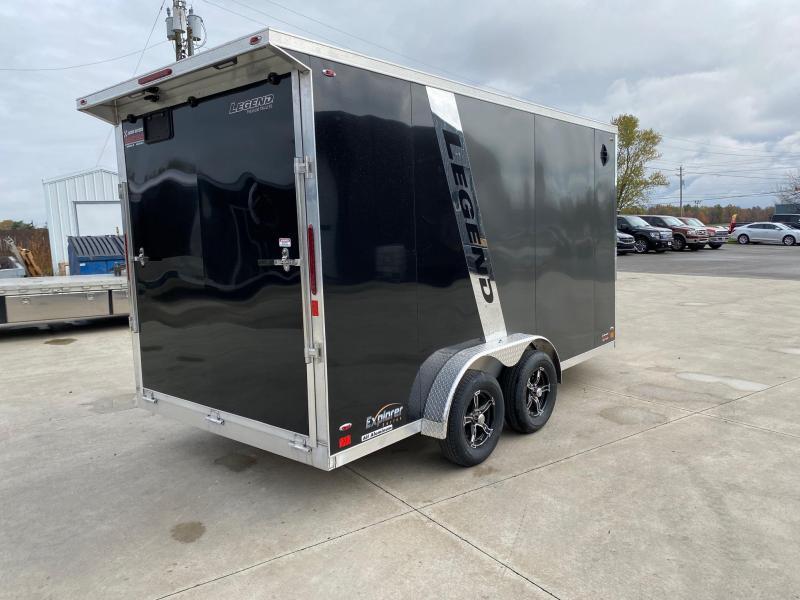 2021 Legend Explorer 7.5X19 Snowmobile Trailer Extra Height