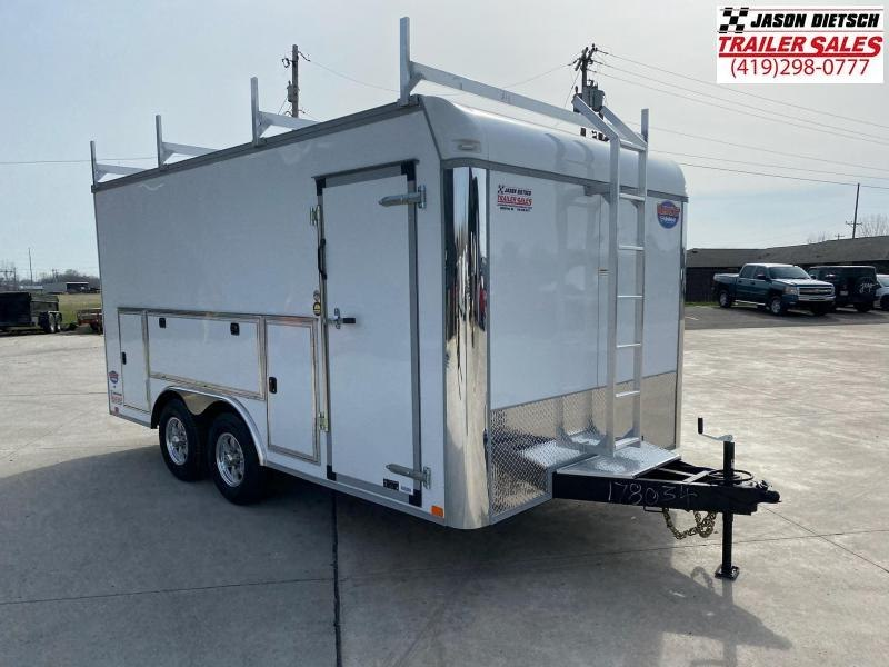 2021 United UXT 8.5x16 Enclosed Tool Crib Trailer