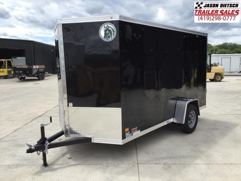 2022 Darkhorse DHW 6x12  V-Nose Cargo Trailer