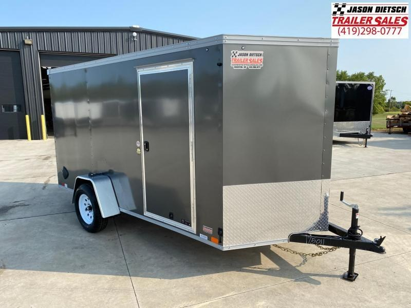 2021 United XLV 6X12 V-Nose Enclosed Cargo Trailer