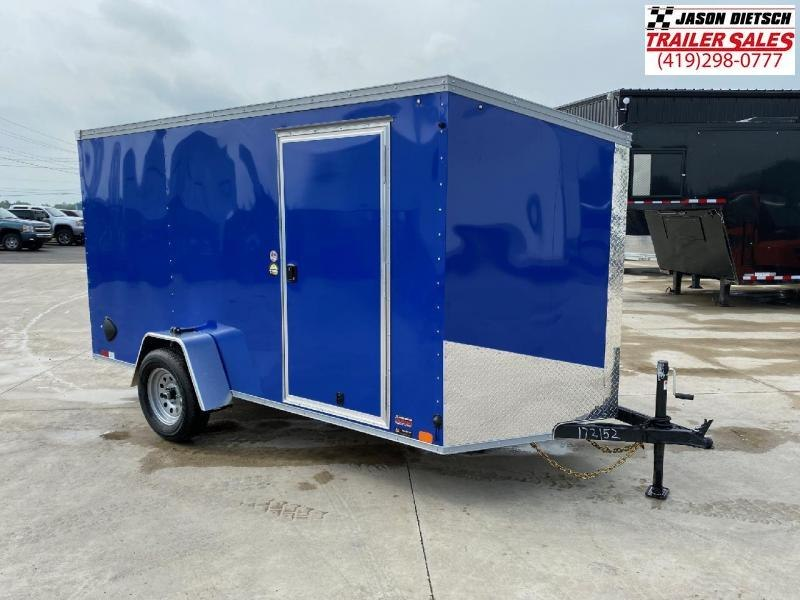 2021 United XLV 6X12 V-Nose Slant Enclosed Cargo Tr....Stock# UN-172152
