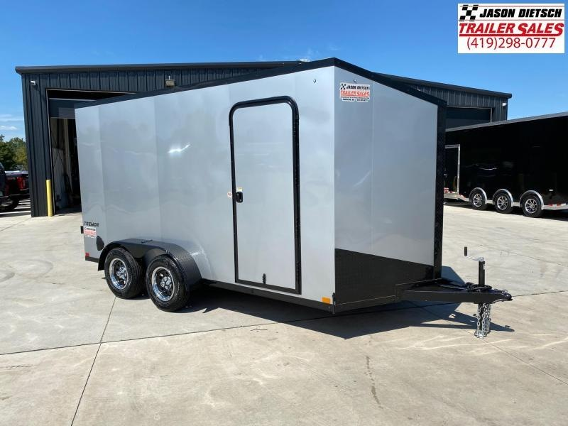 2021 Impact Tremor Blackout 7x14 V-Nose Cargo Trailer
