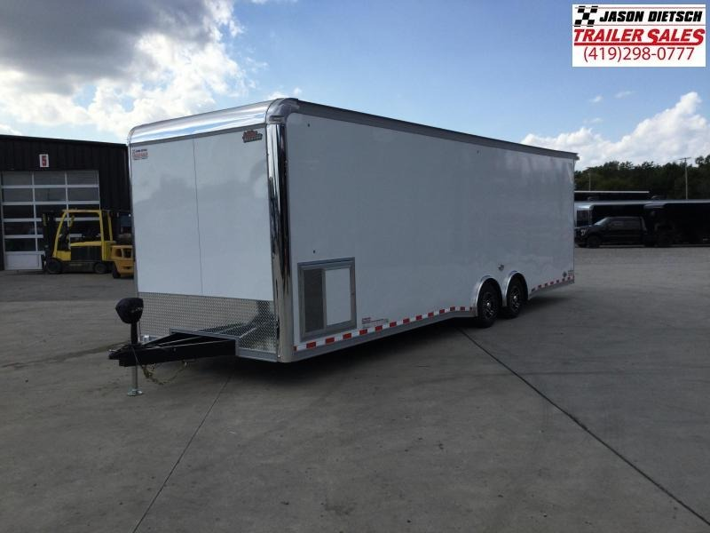 2022 United GEN4 8.5x28 Car/Race Trailer Extra Height