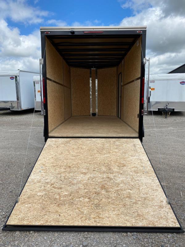 2020 Legend Steel V-Nose 7X16 Extra Height Cargo Trailer