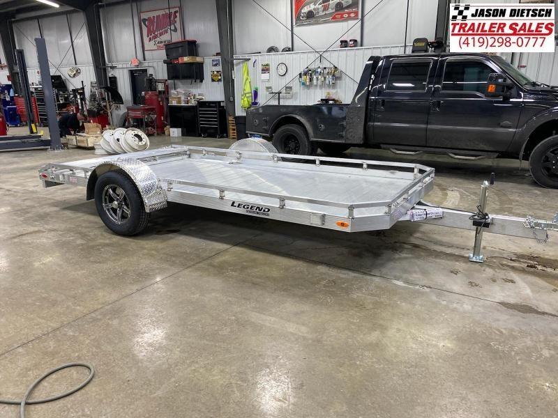2022 LEGEND 7X14 Aluminum Utility Trailer