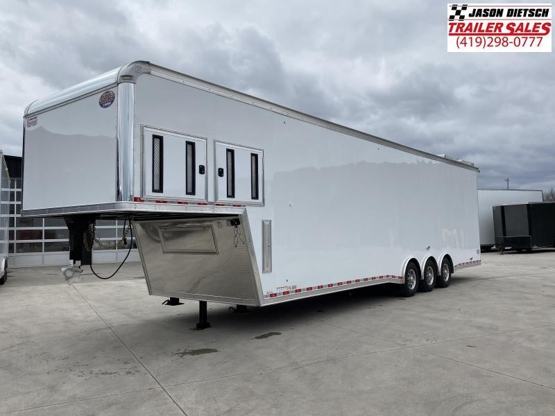 2020 United Trailers 8.5X40 RAMP OVER Car / Racing Trailer....STOCK# UN-171706