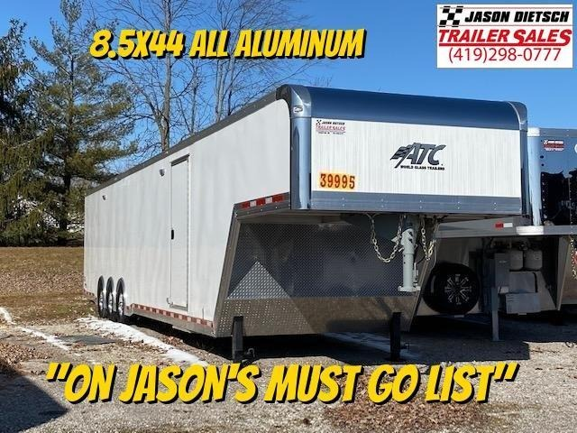 2019 ATC All Aluminum 8.5X44 Car/Race Trailer