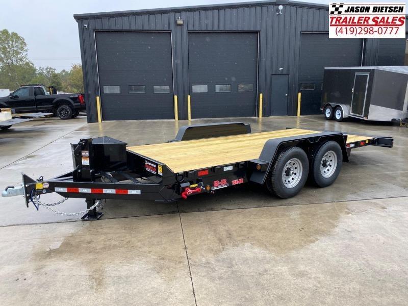 2020 Behnke 14K  83x18 Tilt Equipment Trailer