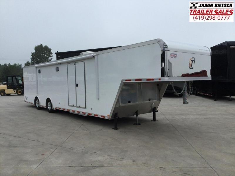 2017 IN TECH 8.5x40 Gooseneck Car/Race Trailer