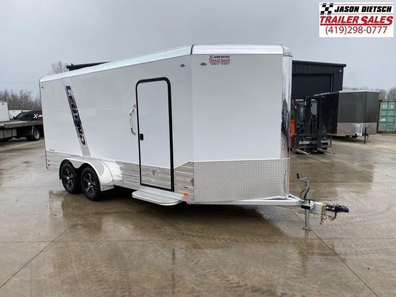 2021 Legend Flat Top V-Nose 7X19 Cargo Trailer