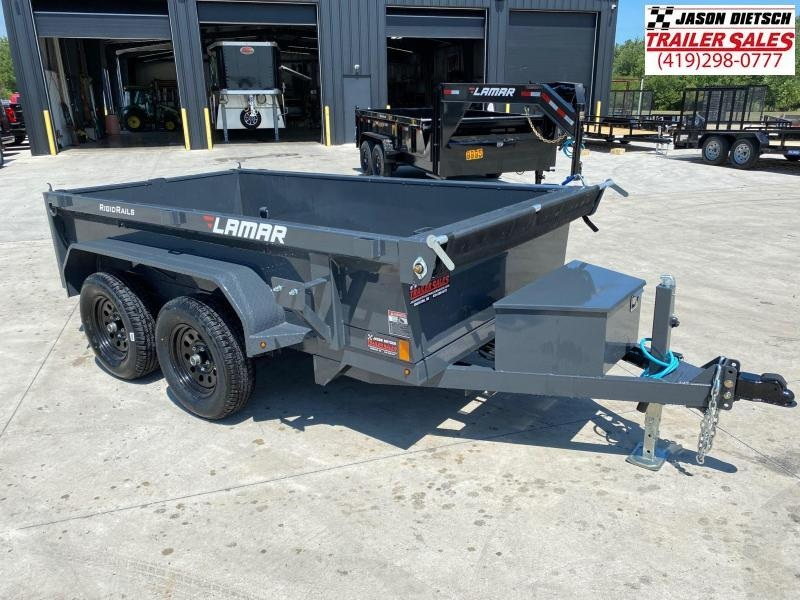 2021 Lamar 60X10 *MINI* Dump Trailer