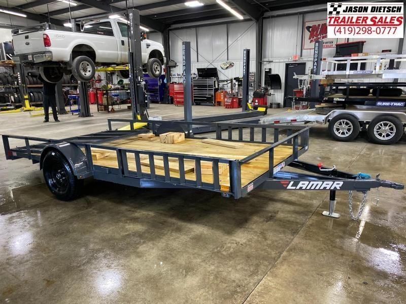 2021 Lamar 83x14 Single Axle Utility Trailer