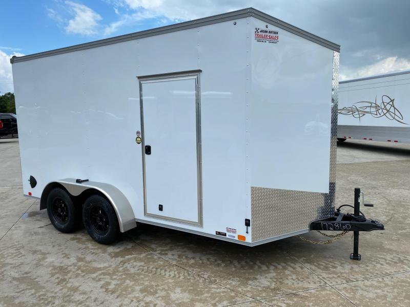 2020 United Trailers XLV 7x14 V-Nose Enclosed Cargo Trailer....Stock# UN-172860