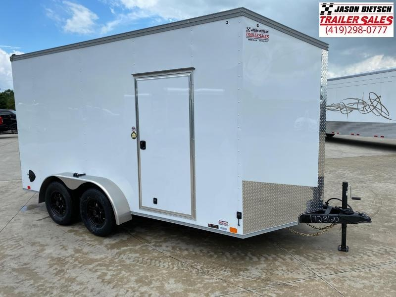 2021 United Trailers XLV 7x14 V-Nose Enclosed Cargo Trailer....Stock# UN-172860