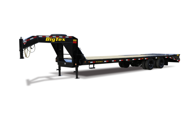 2021 Big Tex Trailers 22GN 20+5 Flatbed Trailer