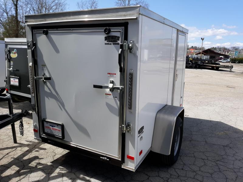 2020 COVERED WAGON 5X8 V RMP/SLESS