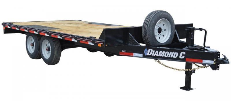 2021 Diamond C Trailers DEC207 24X102 Equipment Trailer