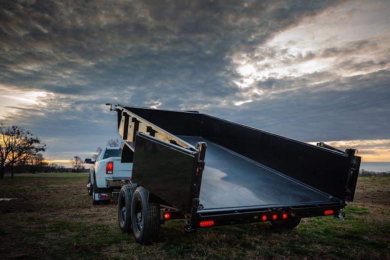 2020 Big Tex Trailers 14LP-16 Dump Trailer